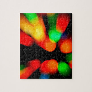 Blurred color background jigsaw puzzle