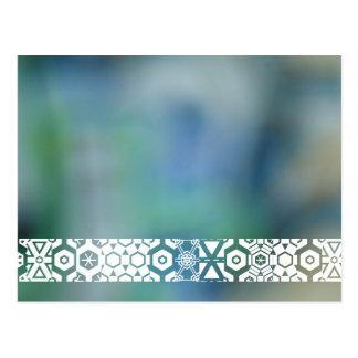 Blurred Graffiti Postcard