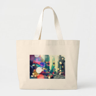 Blurred New York Times Square Tote Bag