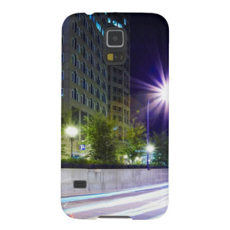 Blurred Traffic at Night Cases For Galaxy S5