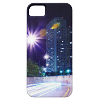 Blurred Traffic at Night iPhone 5 Case