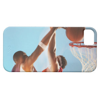 Blurred view of basketball player dunking case for the iPhone 5