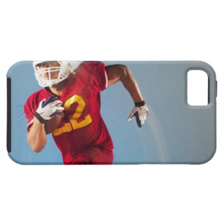 Blurred view of football player running with case for the iPhone 5