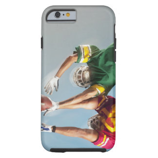 Blurred view of football players reaching for tough iPhone 6 case