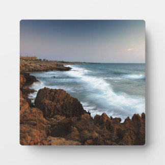 Blurred Waves Plaque