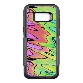 Blurry Rainbow in Pen and Watercolor OtterBox Commuter Samsung Galaxy S8+ Case