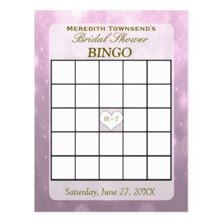 Blush Bokeh | Bingo Card