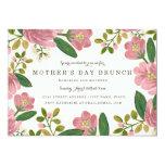 Blush Bouquet Mother's Day Brunch 13 Cm X 18 Cm Invitation Card