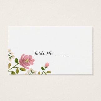 Blush Bouquet Wedding Place Cards 100 pk