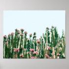 Blush Cactus Poster