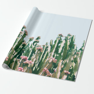 Blush Cactus Wrapping Paper