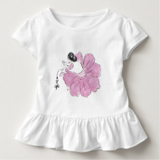 Blush Flower Like Ballerina by Dorme Naberrie Toddler T-Shirt