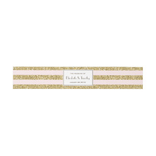 invitation belly bands zazzle co uk