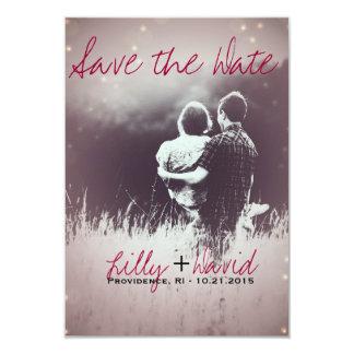Blush Light - Save the Date Card