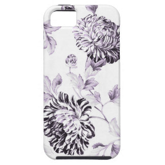 Blush Mulberry & White Botanical Floral Toile No.2 Case For The iPhone 5