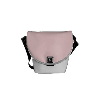 Blush Pink Courier Bag