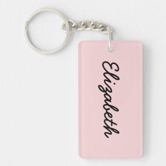 Blush Pink Keychain