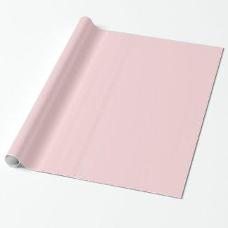 Blush Pink Gift Wrap Paper