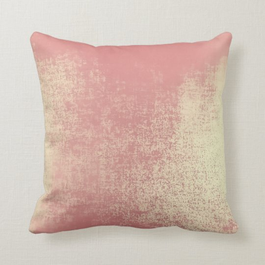Blush Rose Gold Coral Ombre Abstract Minimal Paste