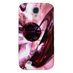 Blushing Abstract 3G Galaxy S4 Cover