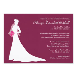 Blushing Bride - Bridal Shower Invitations