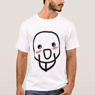 Blushing Comic Face T-Shirt