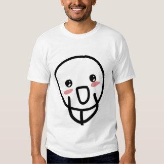 Blushing Comic Face Tshirts