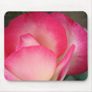 Blushing Petals Mouse Pad