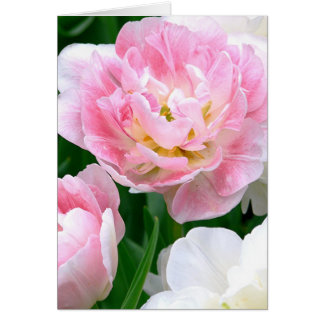 """BLUSHING PINK PEONY/You've Been On My Mind"" Card"