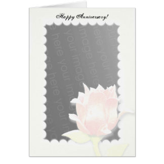 Blushing Rose! Card