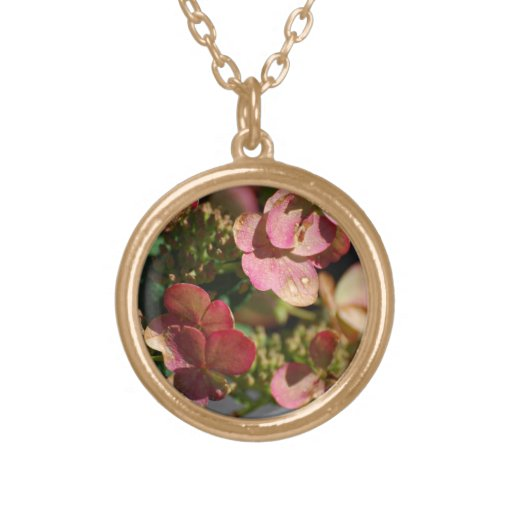 Blushing Wildflowers Necklace