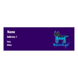 Bluskat Pack Of Skinny Business Cards