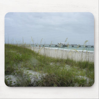 Blustery Day at the Beach Mouse Pad