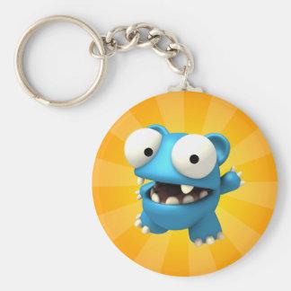 Bluto Basic Round Button Key Ring