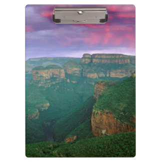 Blyde River Canyon At Sunset, South Africa Clipboard