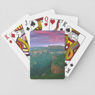 Blyde River Canyon At Sunset, South Africa Playing Cards