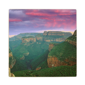Blyde River Canyon At Sunset, South Africa Wood Coaster