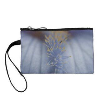 BLYE Blue and Yellow Iris Change Purse