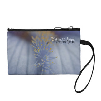 BLYE Blue and Yellow Iris Coin Purses
