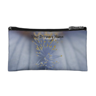 BLYE Blue and Yellow Iris Makeup Bag
