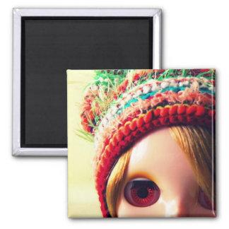 blythe blond square magnet