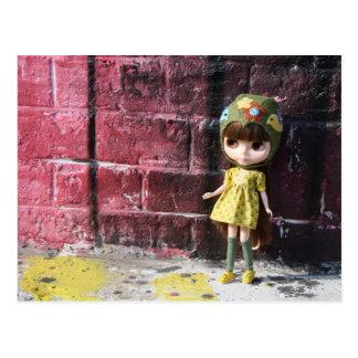 Blythe Raspberry Sorbet Postcard