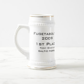 BMB, Fugetaboutit2009, 1st Place, Tony GIannasi... Beer Steins