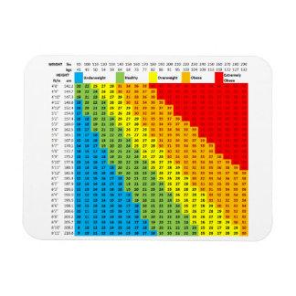 BMI Chart Magnet