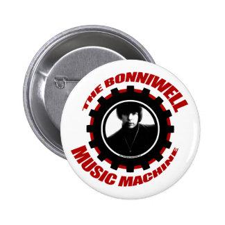 BMM Gear Logo Pinback Buttons