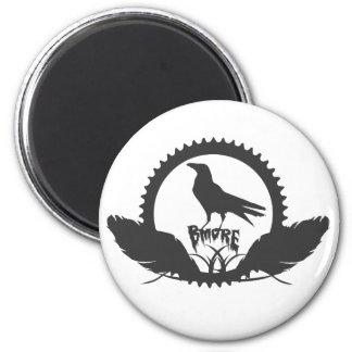 Bmore Raven 2 6 Cm Round Magnet