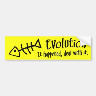 BMP Evolution Reality Check v1.4 Bumper Sticker