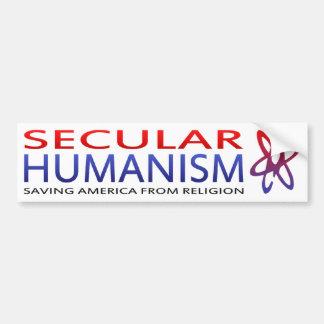 BMP Secular Humanism USA Bumper Sticker