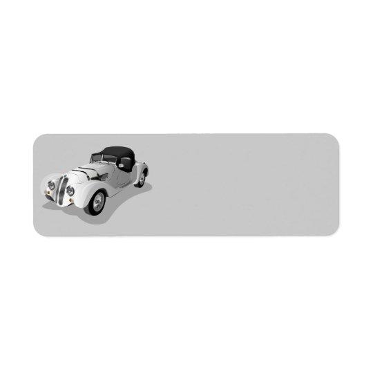 bmw-158703 bmw, car, roadster, sports car, automob return address label
