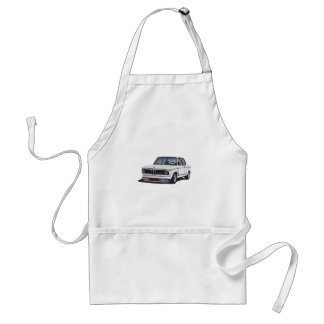 BMW 2002 turbo (E20) DIY white Standard Apron
